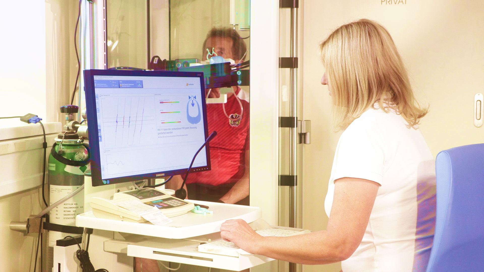 Untersuchungen bei Lungenarzt Dr. Hans-Peter Dorninger in Kirchdorf an der Krems